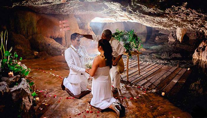Maya Wedding on a Cenote
