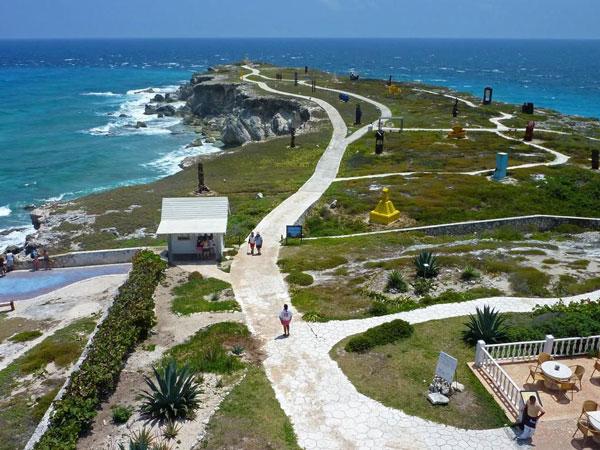 Acantilado Punta Sur Isla Mujeres