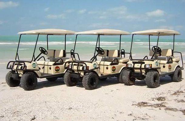 isla mujeres golf cart rent