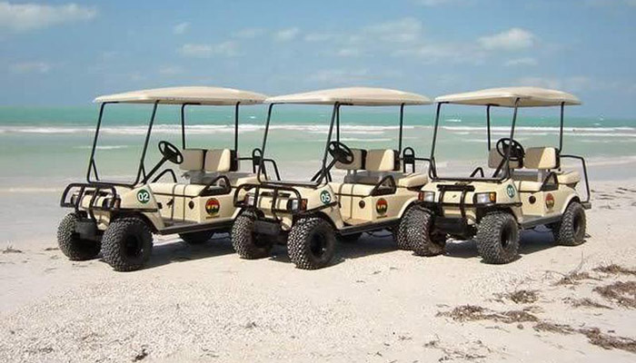 isla mujeres golf cart rent