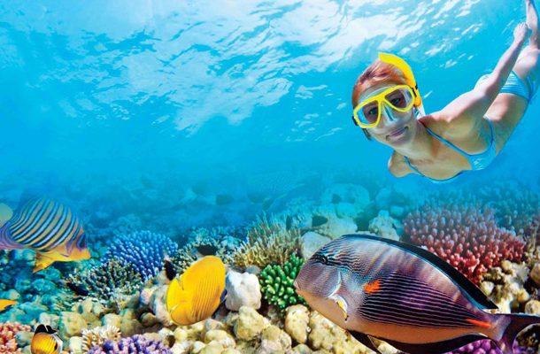 where to do snorkel in isla mujeres