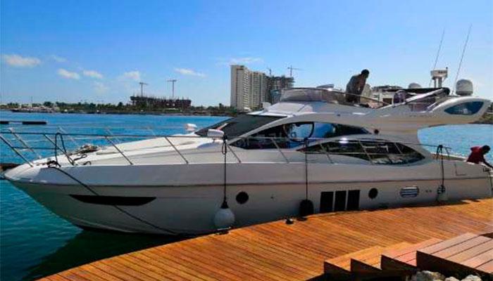 yacht tour isla mujeres
