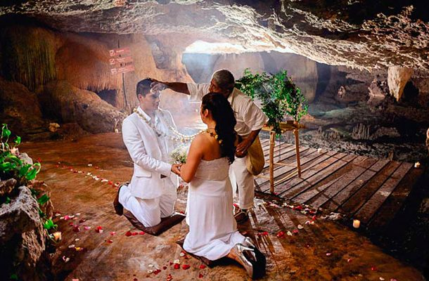 Maya Wedding on a Cenote