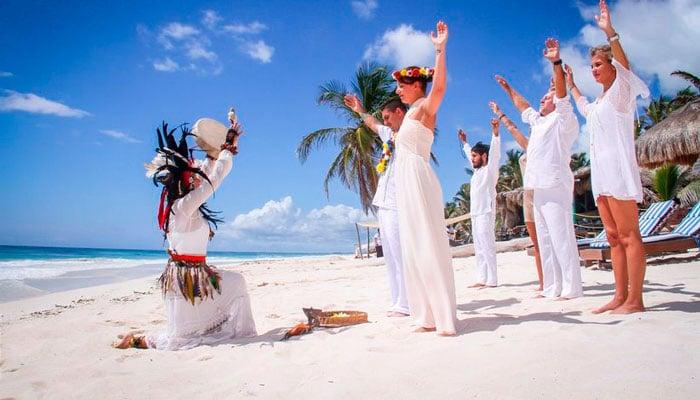 Maya Wedding Shaman