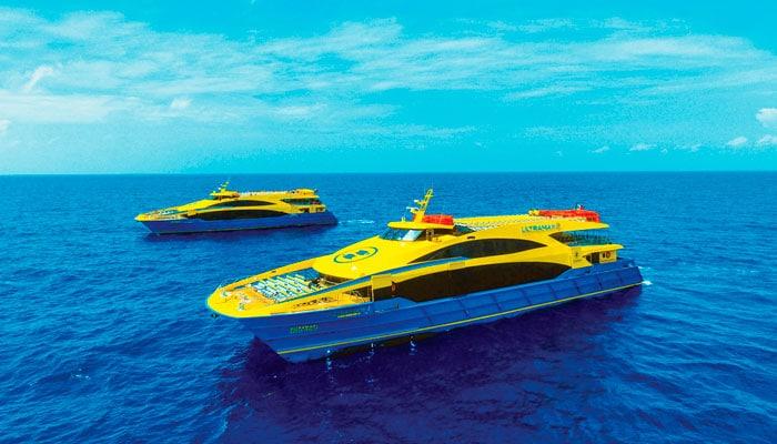 Ultramar Ferry from Cancun